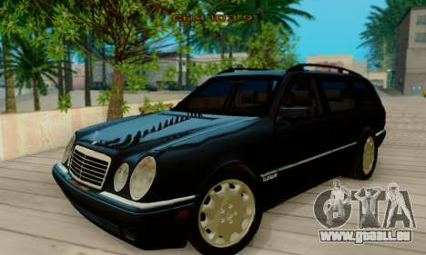 Mercedes-Benz E320 Wagon für GTA San Andreas linke Ansicht