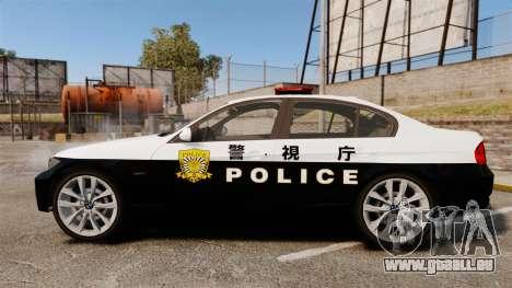 BMW 350i Japanese Police [ELS] pour GTA 4 est une gauche