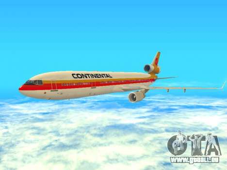 McDonnell Douglas MD-11 Continental Airlines pour GTA San Andreas