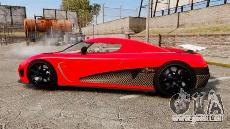 Koenigsegg Agera R [EPM] NFS pour GTA 4 est une gauche