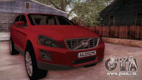 Volvo XC60 2009 pour GTA San Andreas