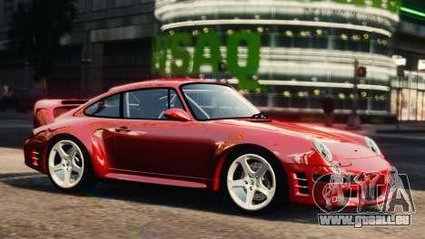 RUF CTR2 1995 für GTA 4 hinten links Ansicht