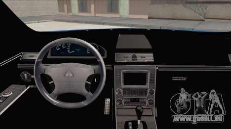 Maybach 57 TT Black Revel pour GTA San Andreas vue de droite