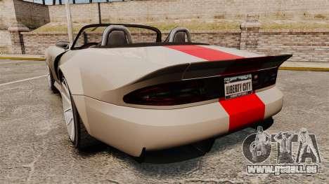 Bravado Banshee new wheels pour GTA 4 Vue arrière de la gauche