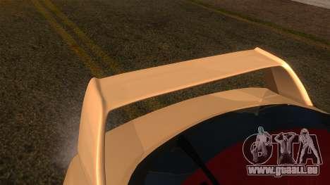 Honda Integra Type R pour GTA San Andreas vue de droite