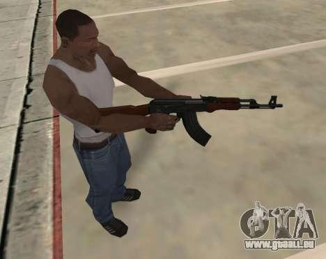 AK-47 für GTA San Andreas sechsten Screenshot