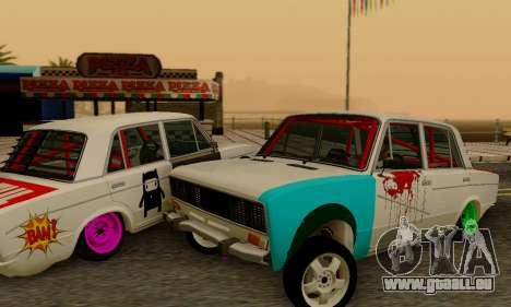 VAZ 2106 Crampes pour GTA San Andreas