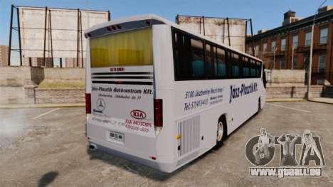 COMIL Campione 3.45 SCANIA K310 pour GTA 4 Vue arrière de la gauche
