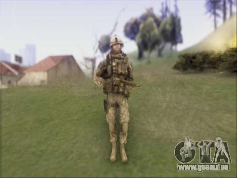 US Army Skin pour GTA San Andreas