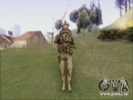 US Army Skin für GTA San Andreas