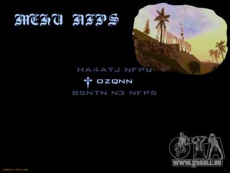 Menu San Andreas 2014 pour GTA San Andreas