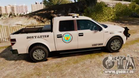 Ford F-150 2010 Liberty City Service Truck [ELS] für GTA 4 linke Ansicht