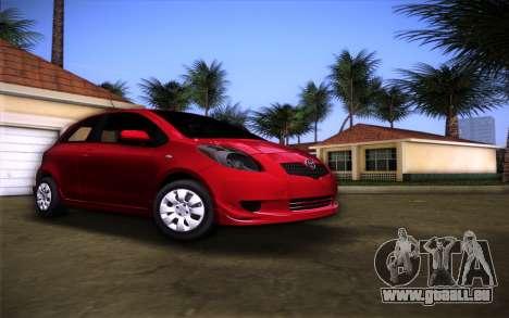Toyota Yaris pour GTA Vice City