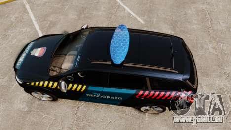 Audi Q7 Hungarian Police [ELS] für GTA 4 rechte Ansicht