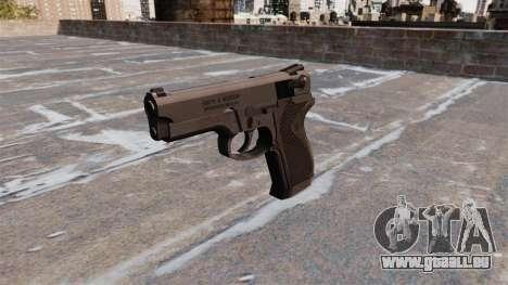 Gun Smith & Wesson Modell 410 für GTA 4 dritte Screenshot