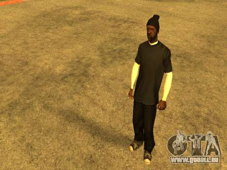 Beta Sweet skin pour GTA San Andreas deuxième écran