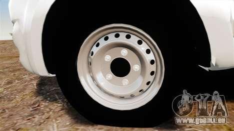 Toyota Hilux 2014 für GTA 4 Rückansicht
