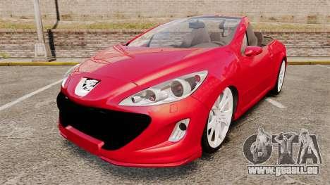Peugeot 308 CC pour GTA 4