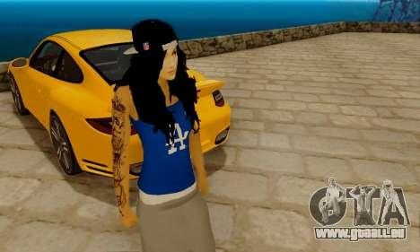 Ophelia v2 pour GTA San Andreas deuxième écran