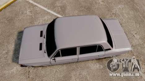 VAZ-2106 Zhiguli BUNKER pour GTA 4 est un droit
