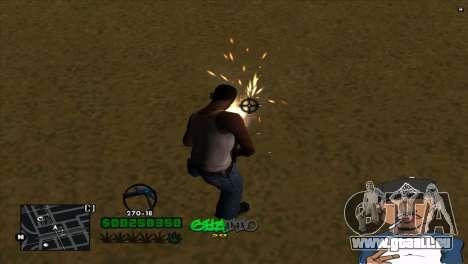C-HUD By Markus pour GTA San Andreas troisième écran