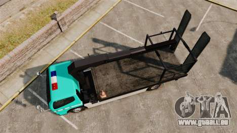 Mitsubishi Fuso Canter Japanese Auto Rescue pour GTA 4 est un droit