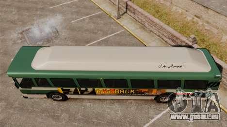 Iranische Farbe bus für GTA 4 rechte Ansicht
