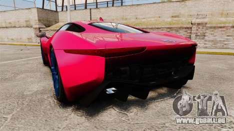 Jaguar C-X75 [EPM] pour GTA 4 Vue arrière de la gauche