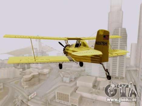 Grumman G-164 AgCat für GTA San Andreas rechten Ansicht