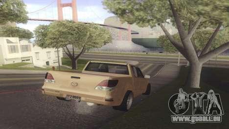 Mazda BT-50 Pro pour GTA San Andreas vue de droite