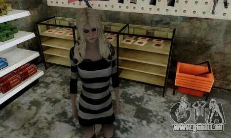 Young Blonde für GTA San Andreas dritten Screenshot