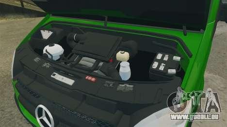 Mercedes-Benz Sprinter 2500 2011 Hungarian Post pour GTA 4 Vue arrière