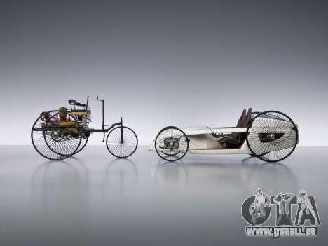 Boot-screens Mercedes-Benz F-CELL Roadster für GTA 4 fünften Screenshot