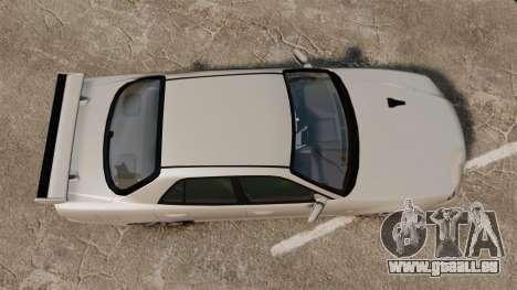 Nissan Skyline ER34 GT-R pour GTA 4 est un droit