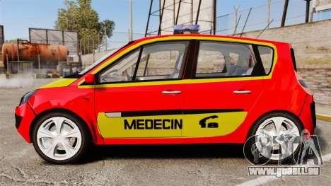 Renault Scenic Medicin v2.0 [ELS] pour GTA 4 est une gauche