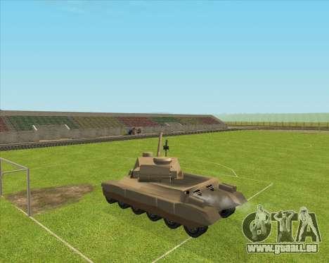 Rhino tp.JSF pour GTA San Andreas vue intérieure