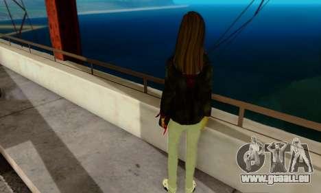 Kim Kameron pour GTA San Andreas deuxième écran