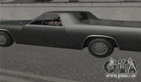 Toutes les roues sur toutes les machines pour GTA San Andreas deuxième écran