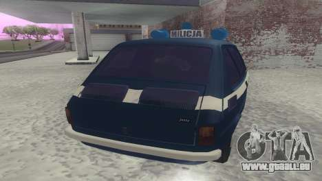 Fiat 126p milicja für GTA San Andreas rechten Ansicht