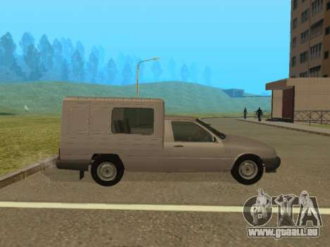 IZH 2717-90 pour GTA San Andreas sur la vue arrière gauche