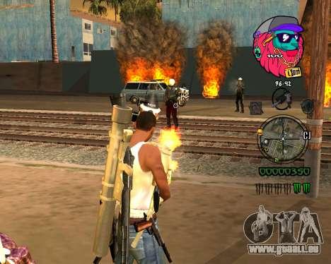 C-HUD Lion pour GTA San Andreas deuxième écran