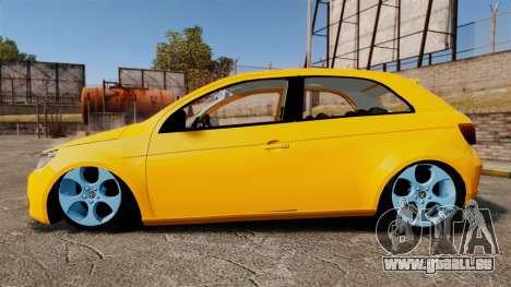 Volkswagen Gol G5 3 Puertas pour GTA 4 est une gauche