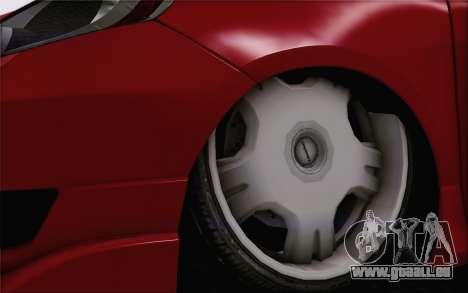 Honda Jazz RS DUB 2010 für GTA San Andreas zurück linke Ansicht