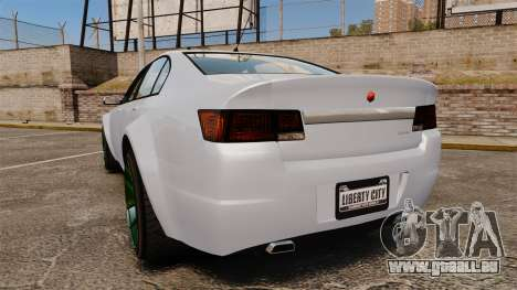 GTA V Cheval Fugitive new wheels pour GTA 4