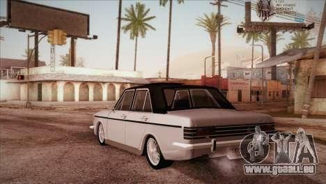 Peykan 48 Blackroof pour GTA San Andreas sur la vue arrière gauche