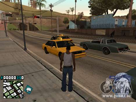 C-HUD Rifa in Ghetto für GTA San Andreas