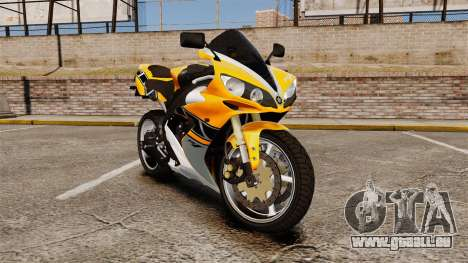Yamaha R1 RN12 v.0.95 pour GTA 4
