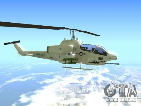 AH-1W Super Cobra für GTA San Andreas