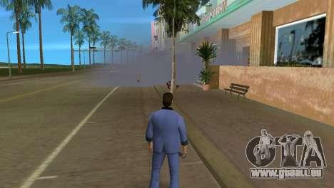 Des micros, des bombes de fumée pour le quatrième écran GTA Vice City