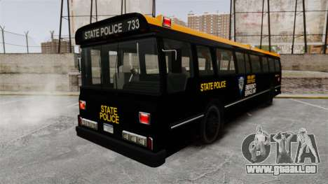 Brute Bus ESU [ELS] pour GTA 4